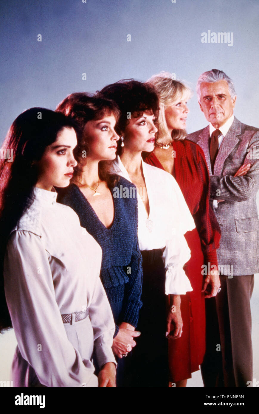 dynasty tv serie usa 1981 aka der denver clan regie esther stock photo 82221377 alamy. Black Bedroom Furniture Sets. Home Design Ideas