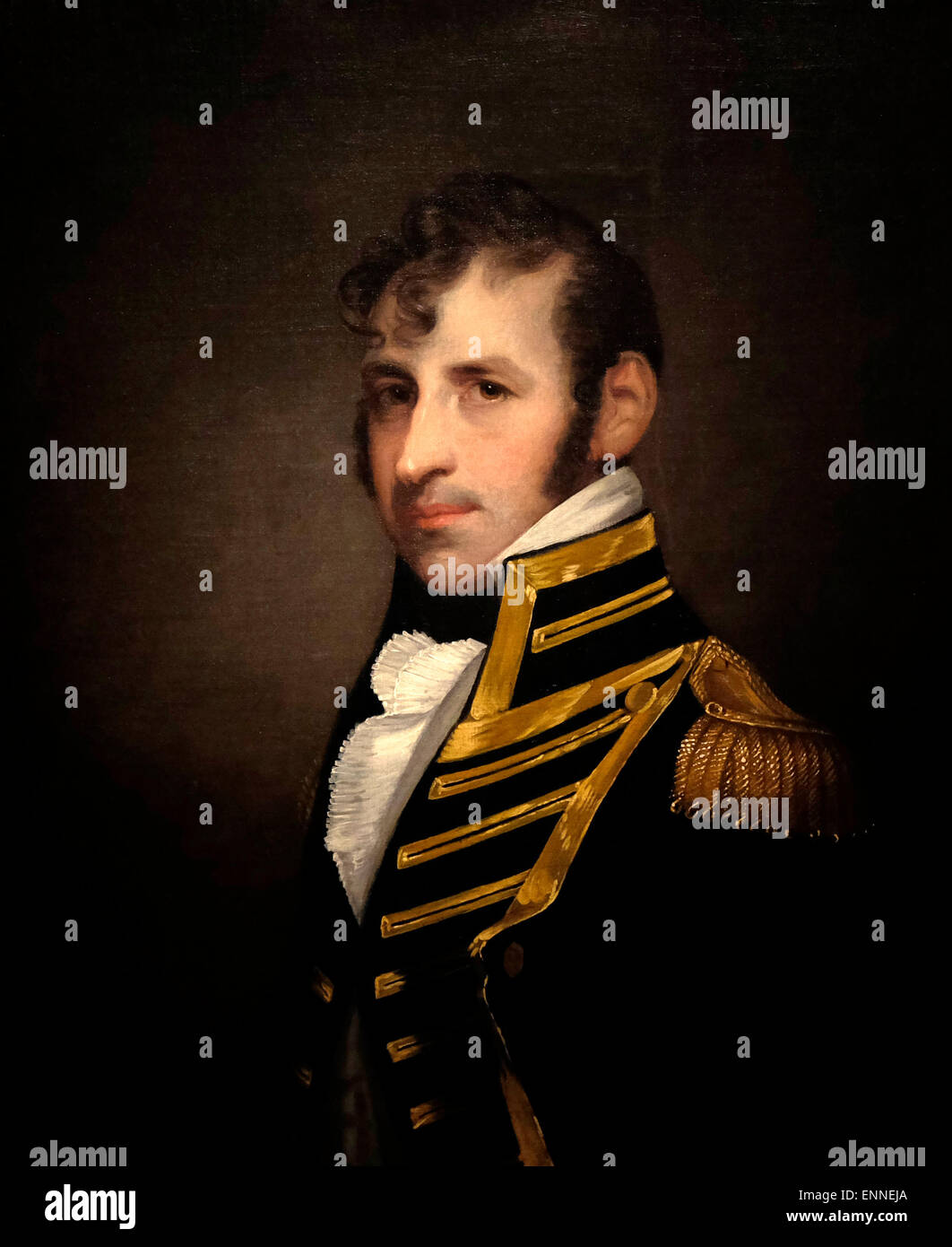 Stephen Decatur, Jr. (January 5, 1779 – March 22, 1820) was a United States naval officer and Commodore notable - Stock Image
