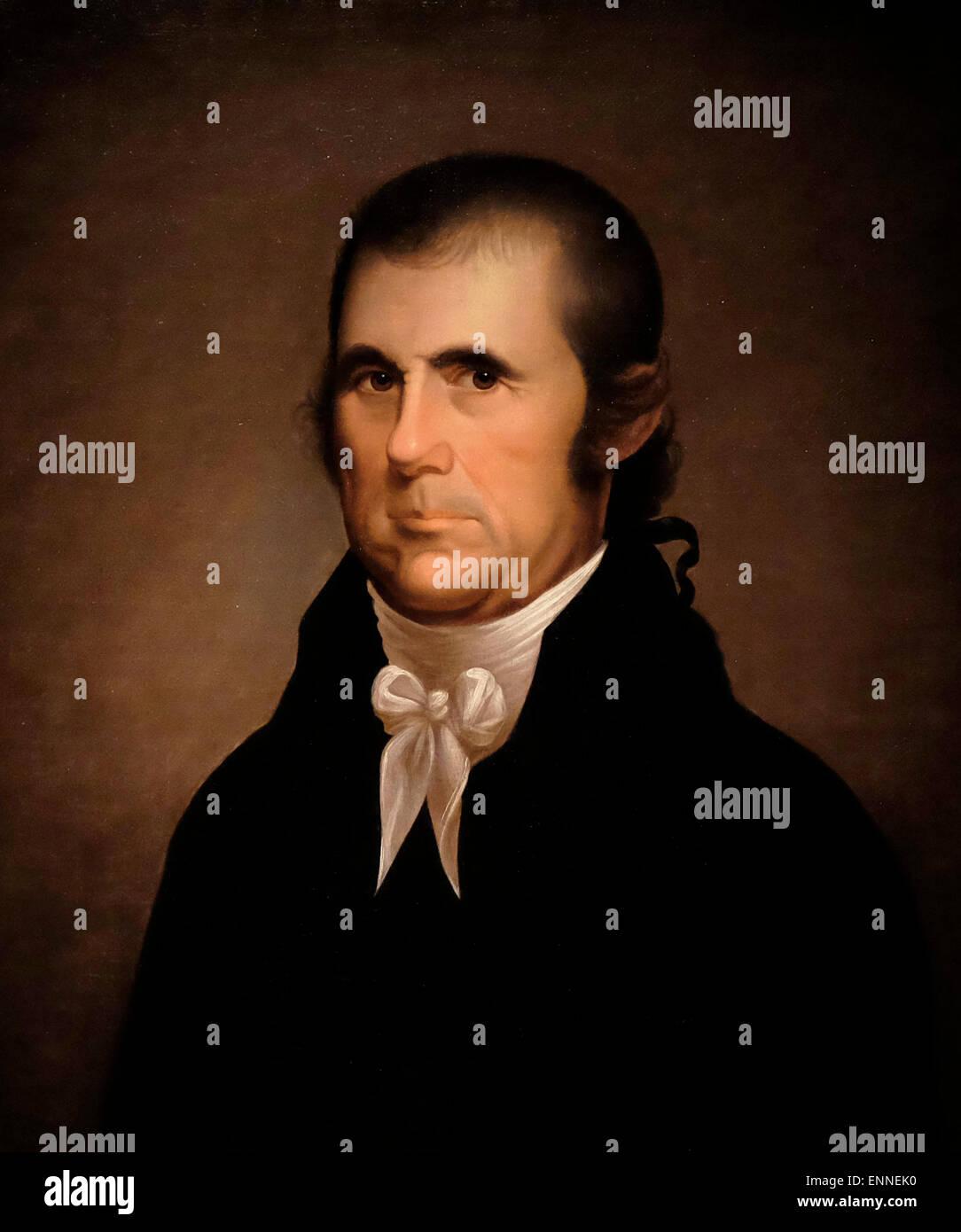 John Marshall, Chief Justice of US Supreme Court  circa 1810  Cephas Thompson - Stock Image