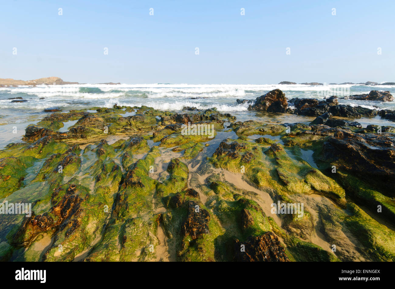 Mystery Bay, Eurobodalla National Park, New South Wales, Australia - Stock Image