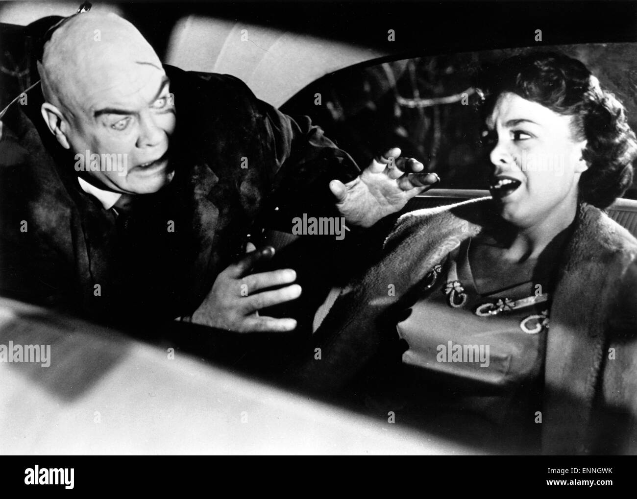 Plan 9 from Outer Space, USA 1959, Regie: Edward D. Wood Jr., Darsteller: Mona McKinnon, Tor Johnson - Stock Image