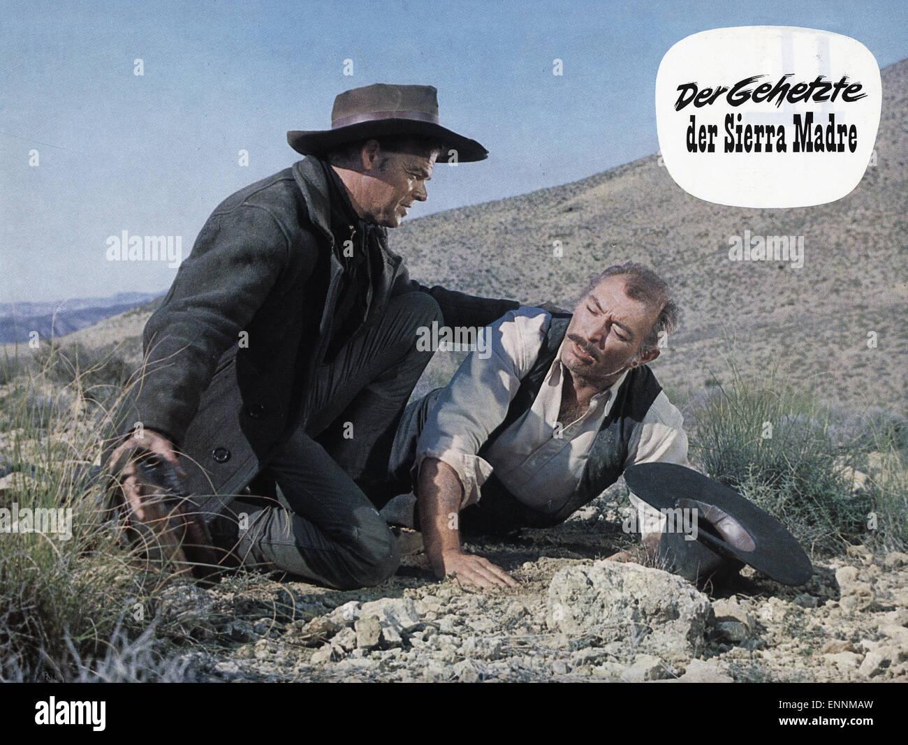 La resa dei conti, aka Der Gehetzte der Sierra Madre, Italien, Spanien, 1966, Sergio Sollima, Lee Van Cleef, Roberto - Stock Image