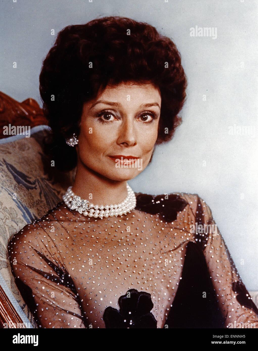 Publicity Shot von Audrey Hepburn aus den 70er Jahren - Stock Image