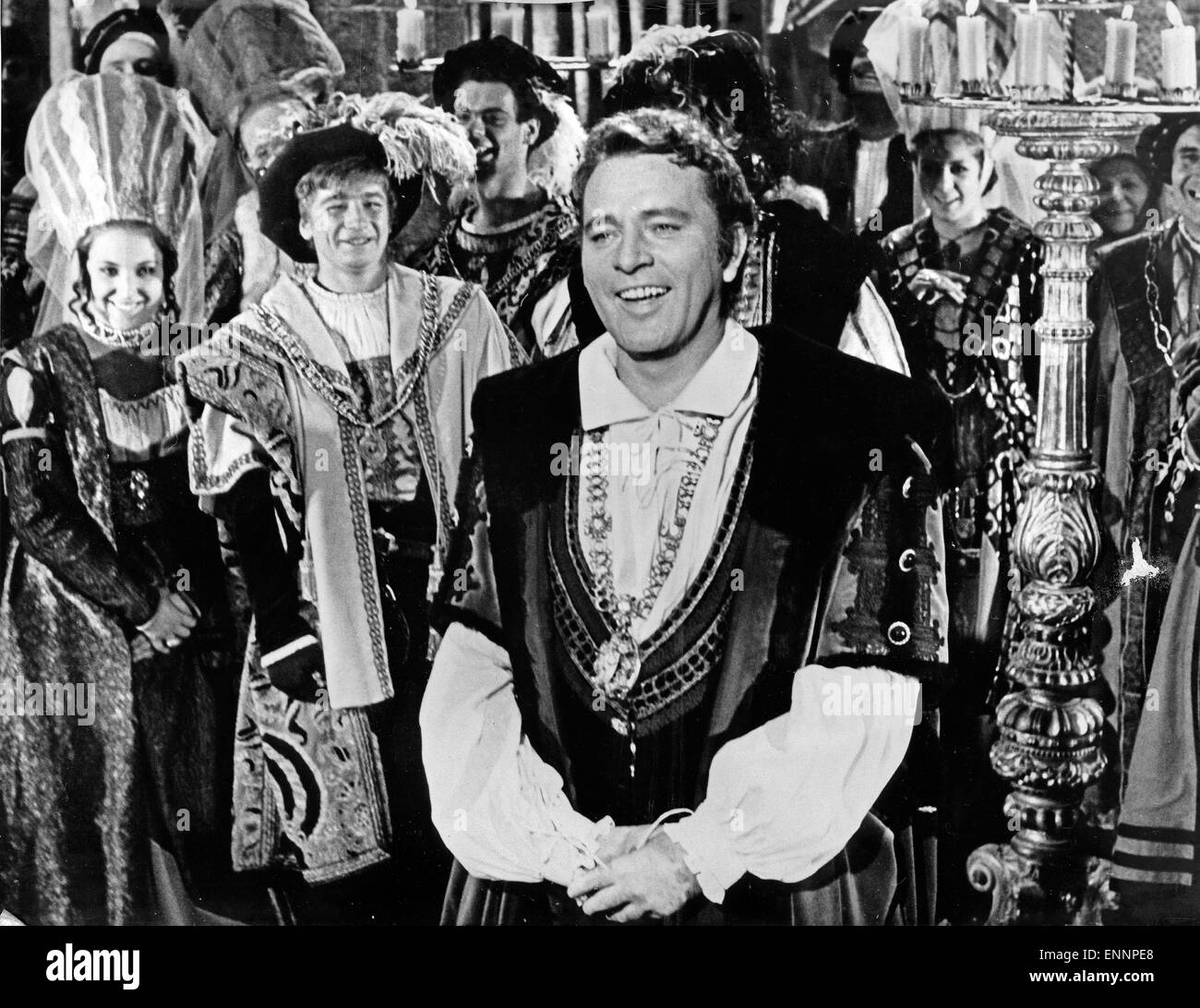 Doctor Faustus, UK, 1967, Regie: Richard Burton, Nevill Coghill, Darsteller: Richard Burton Stock Photo