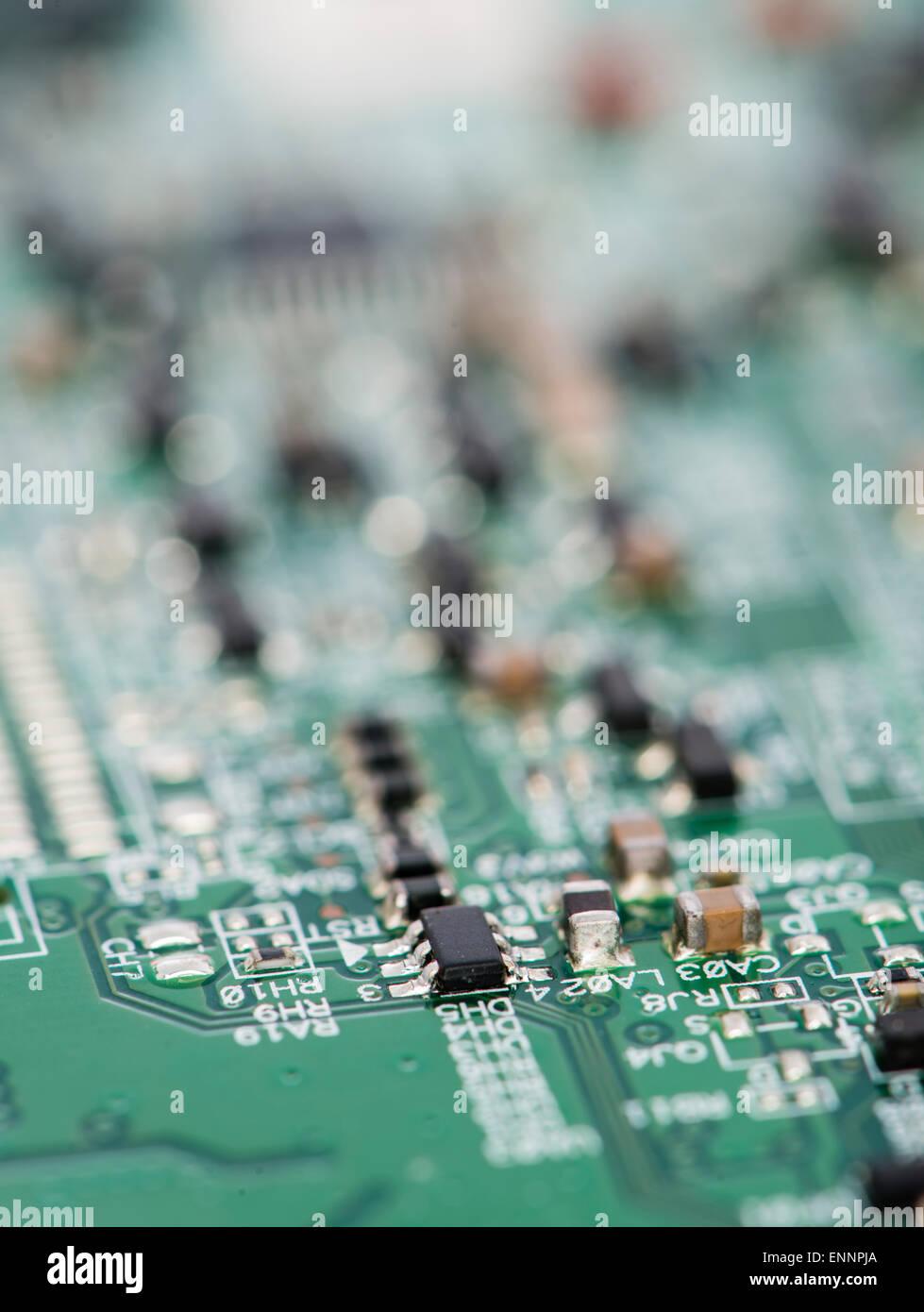 Ic Chip Stock Photos Images Page 2 Alamy Is The Central Printed Circuit Board Pcb In Many Modern Computers With Different Components Image