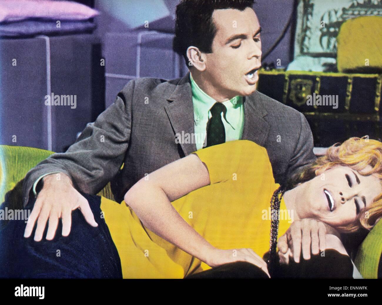 Any Wednesday, USA 1966, aka: Jeden Mittwoch, Regie: Robert Ellis Miller, Darsteller: Jane Fonda, Dean Jones Stock Photo