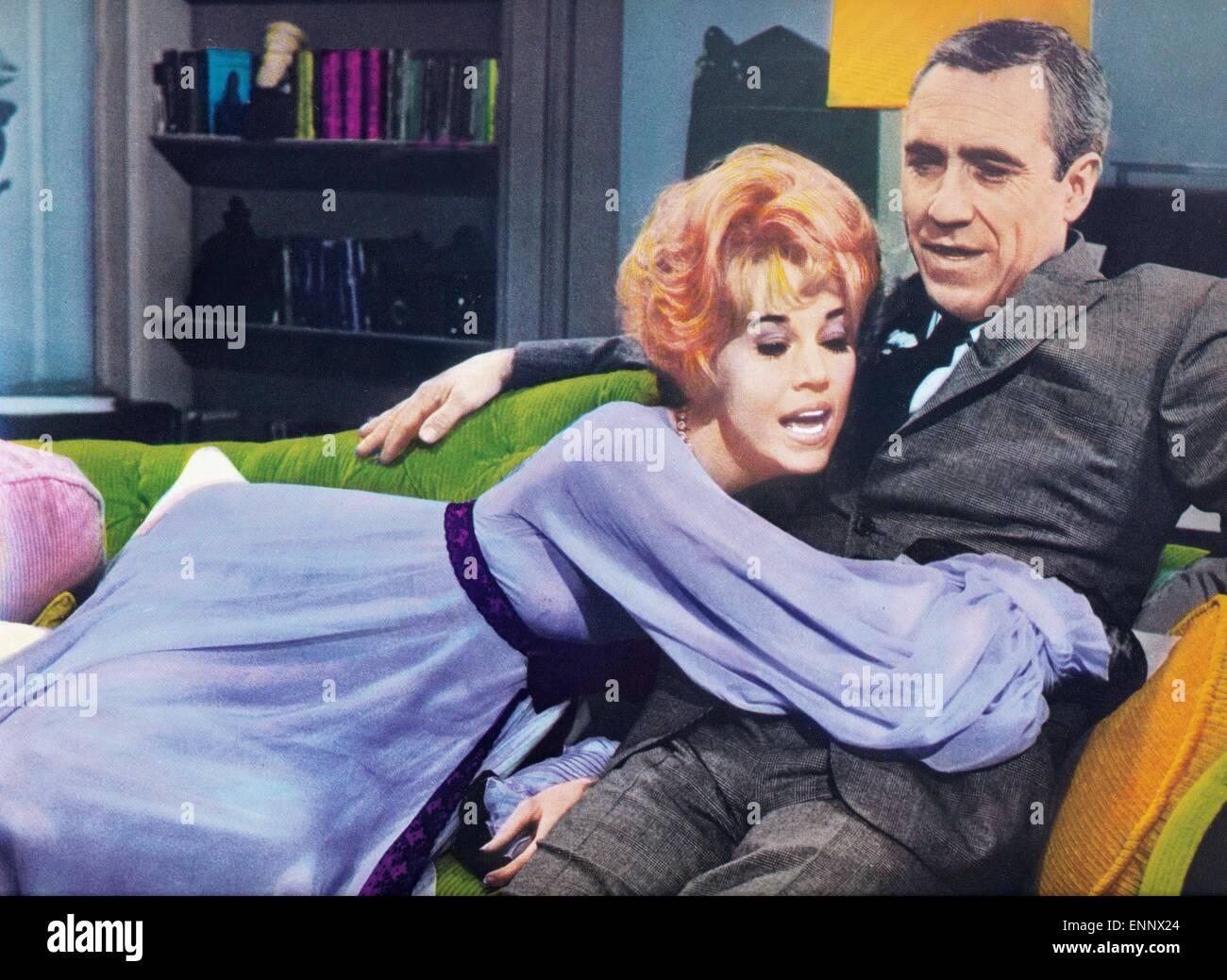 Any Wednesday, USA 1966, aka: Jeden Mittwoch, Regie: Robert Ellis Miller, Darsteller: Jason Robards, Jane Fonda Stock Photo