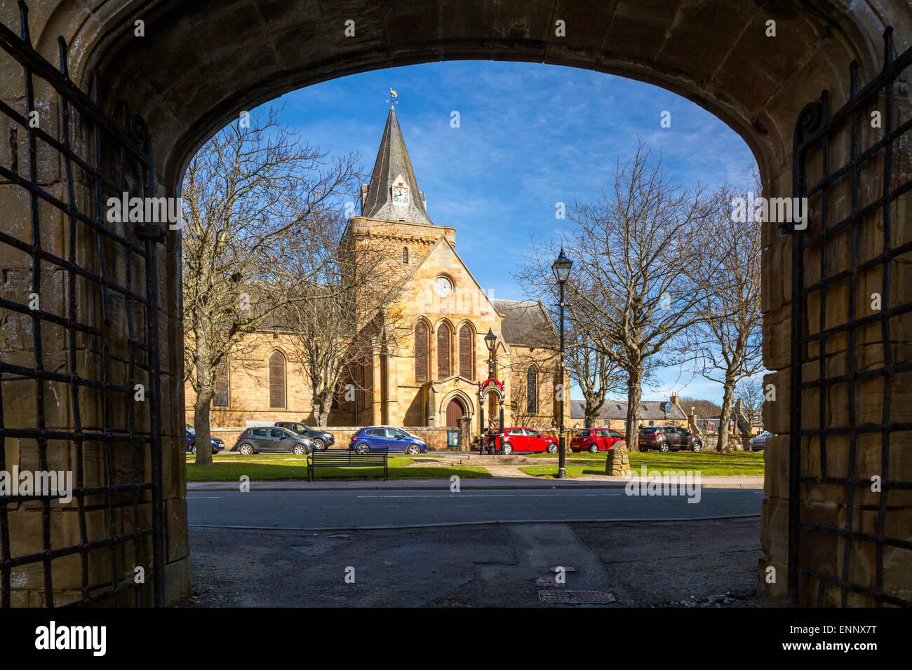13th century Dornoch Cathedral, Sutherland, Highland, United Kingdom, Scotland, Europe. Stock Photo