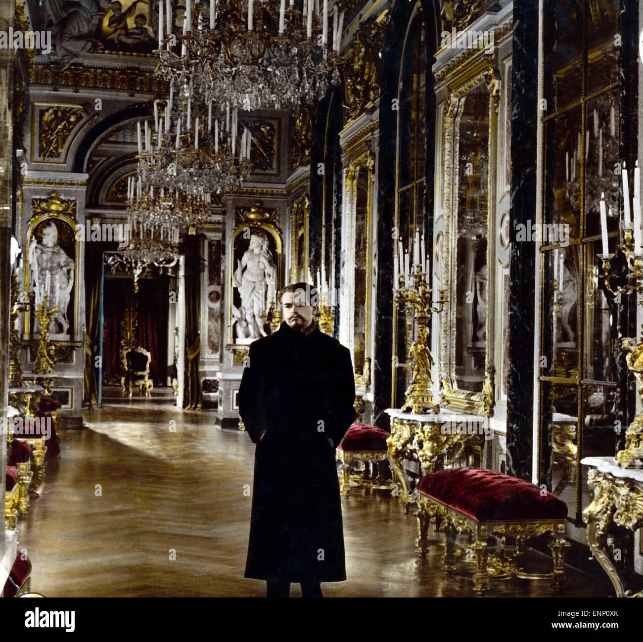 Ludwig II.: Glanz und Ende eines Königs, Deutschland 1955, Regie: Helmut Käutner, Darsteller: O. W. Fischer - Stock Image