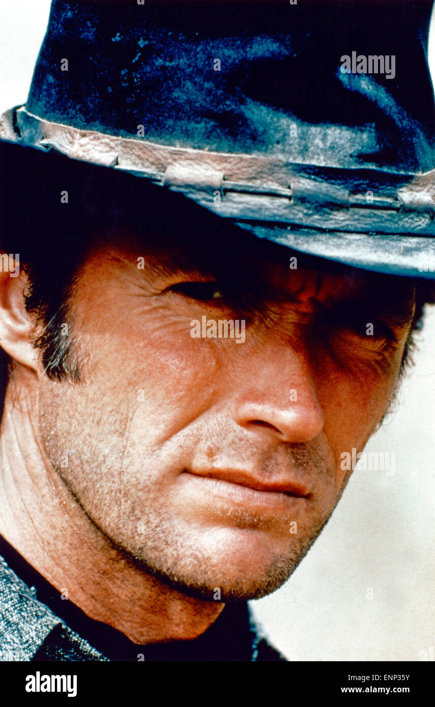 Clint Eastwood Portrait Stock Photos   Clint Eastwood Portrait Stock ... 7e7af485212