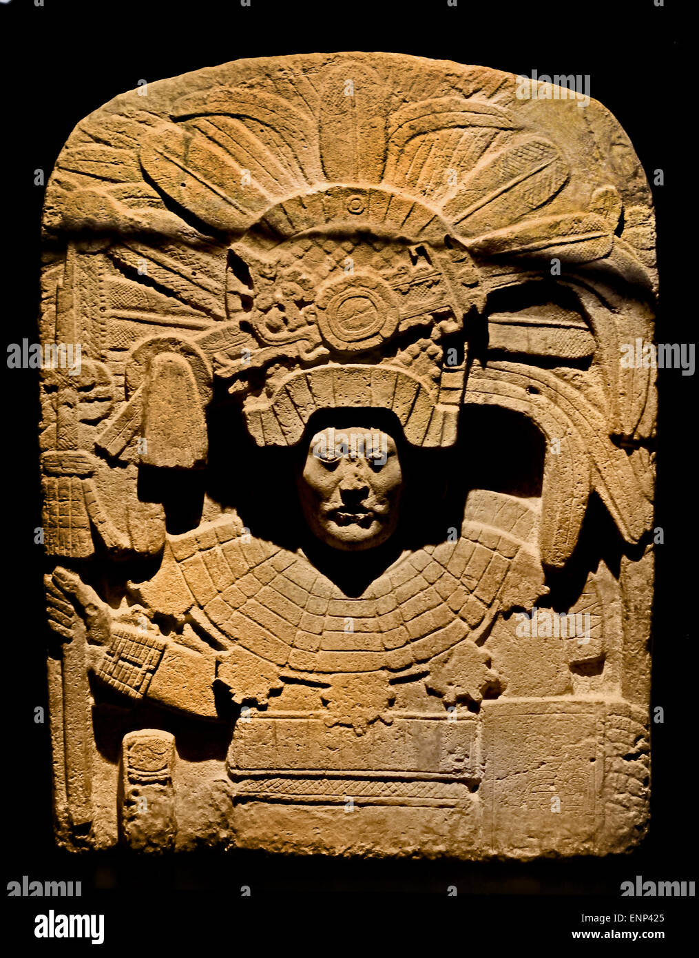 Piedras Negras - Guatemala Mesoamerica ( central America )  Maya Late  Classic 662 AC - Stock Image