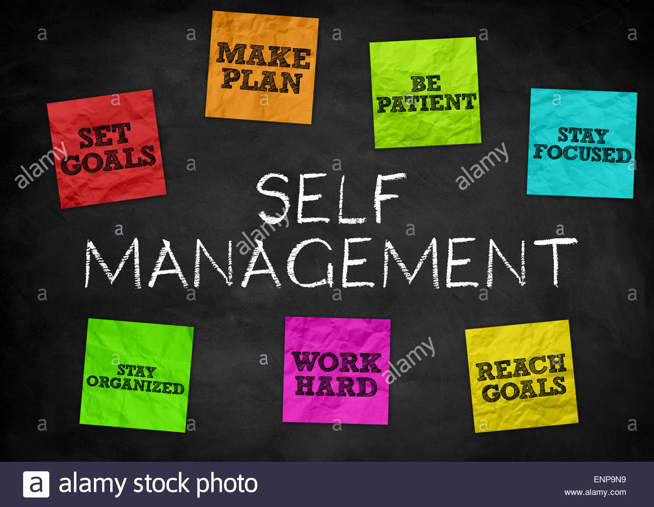 Self Management - Stock Image