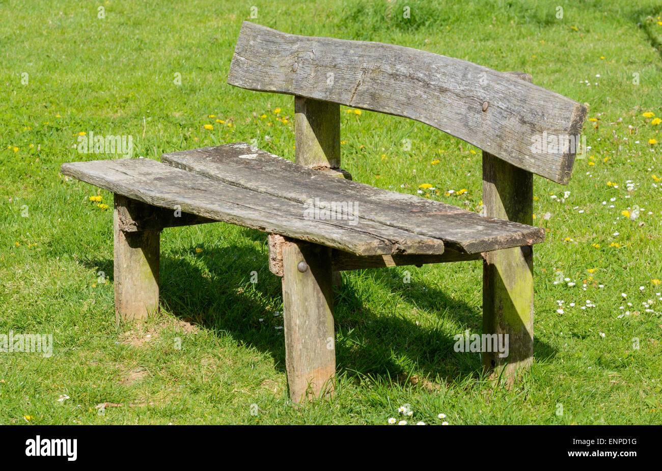 Rustic Wood Bench High Resolution Stock Photography And Images Alamy