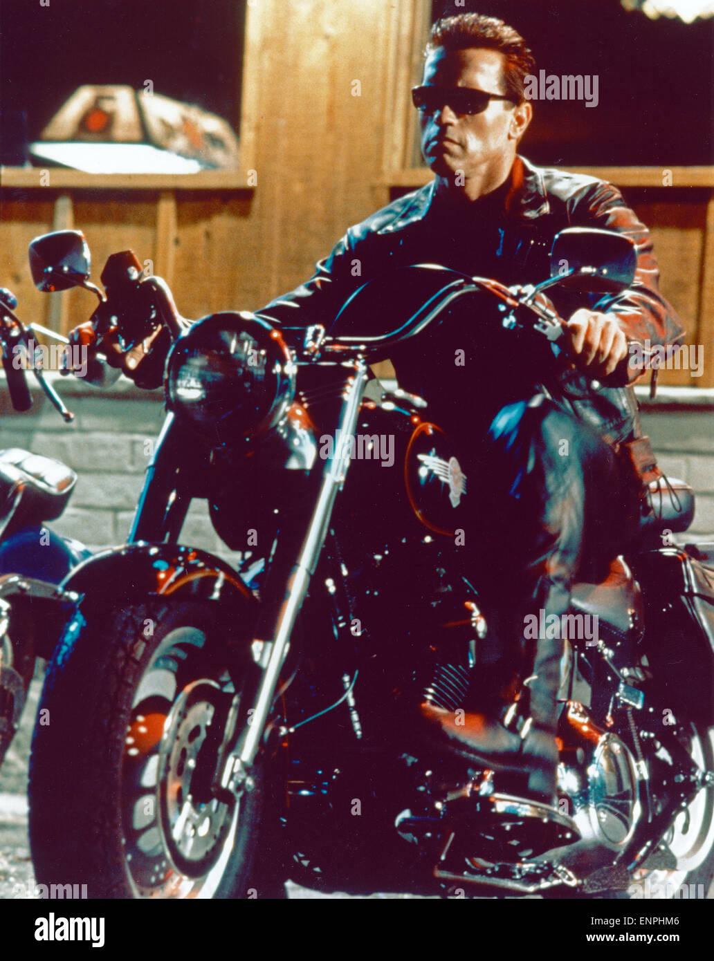 Terminator 2: Judgment Day, aka: Terminator 2 - Tag der Abrechnung, USA/Frankreich 1991, Regie: James Cameron, Darsteller: - Stock Image