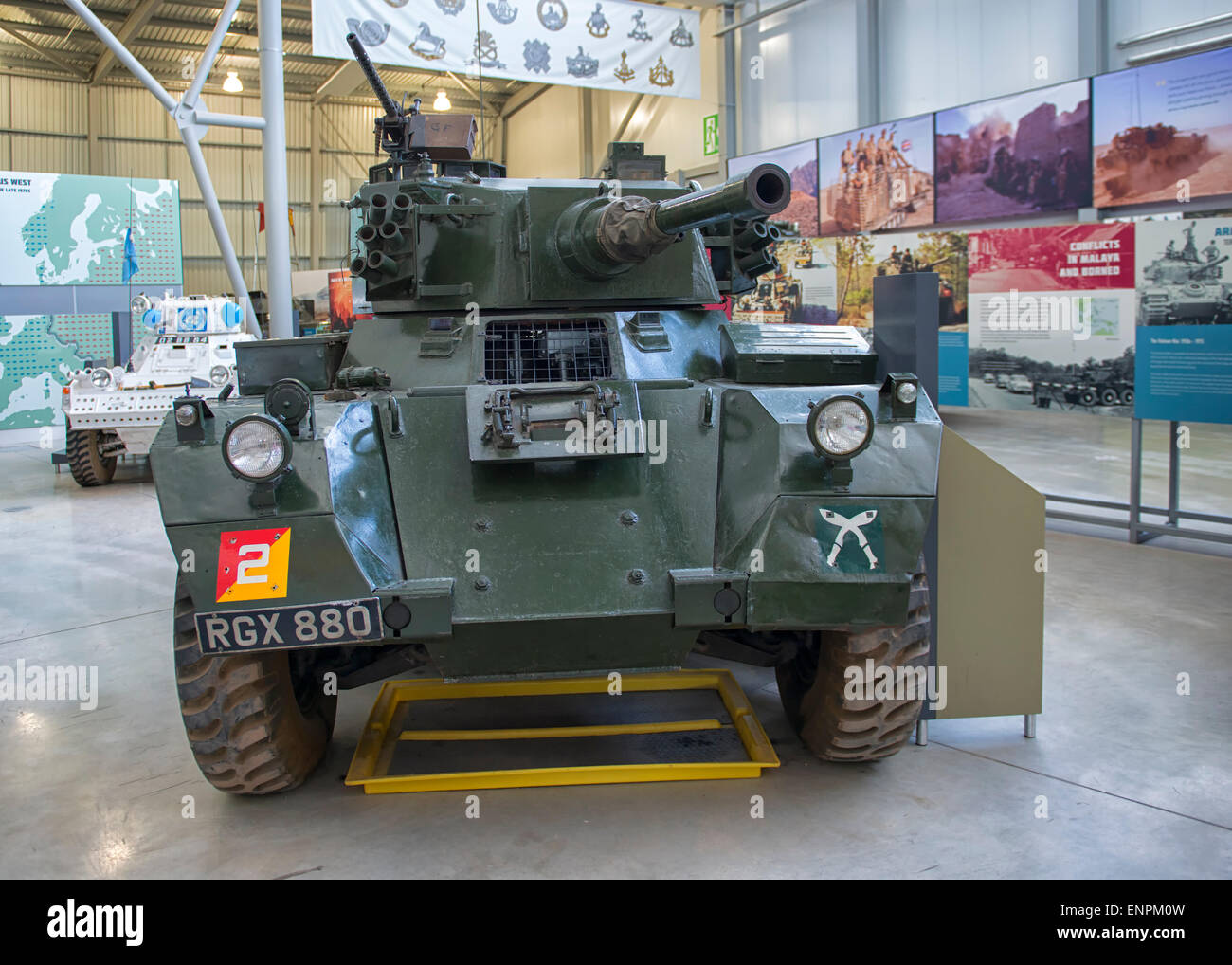 Saladin Armoured Car Stock Photos & Saladin Armoured Car