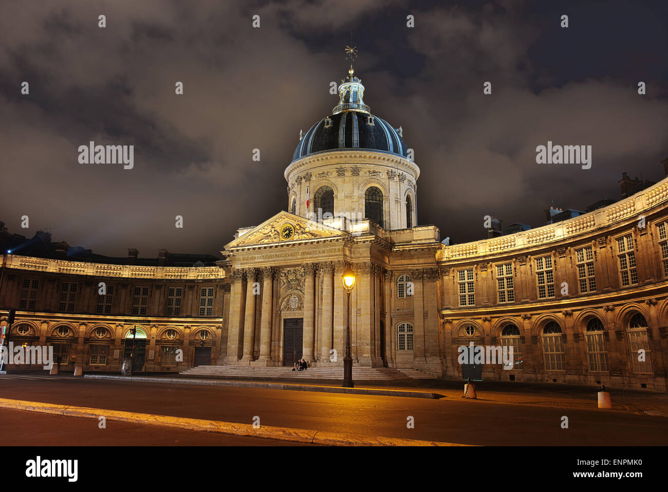 The Institute of France, is a French learned society which manages around 1,000 foundations. - Stock Image