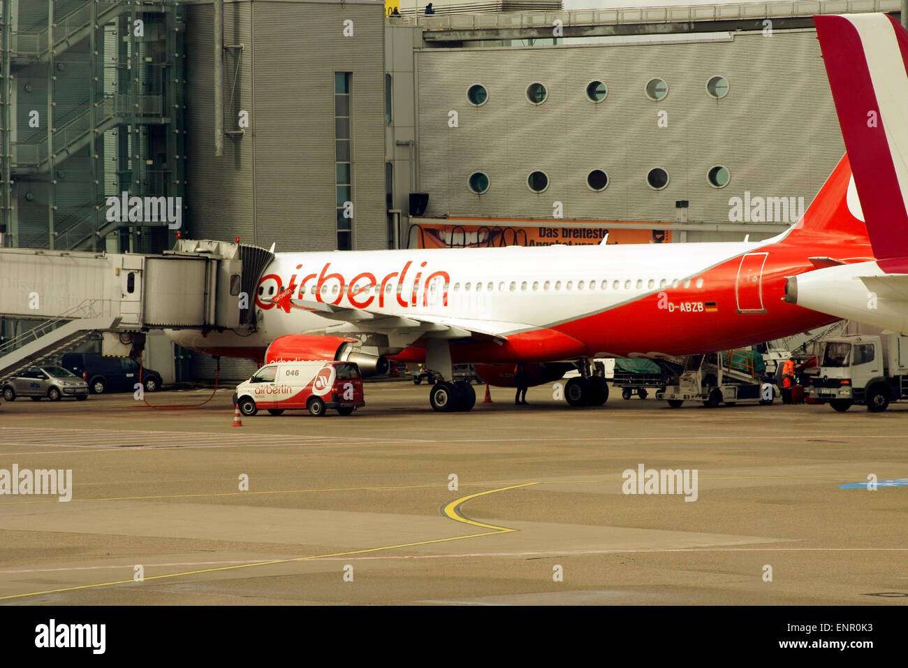 Airliner by Airberlin - Stock Image
