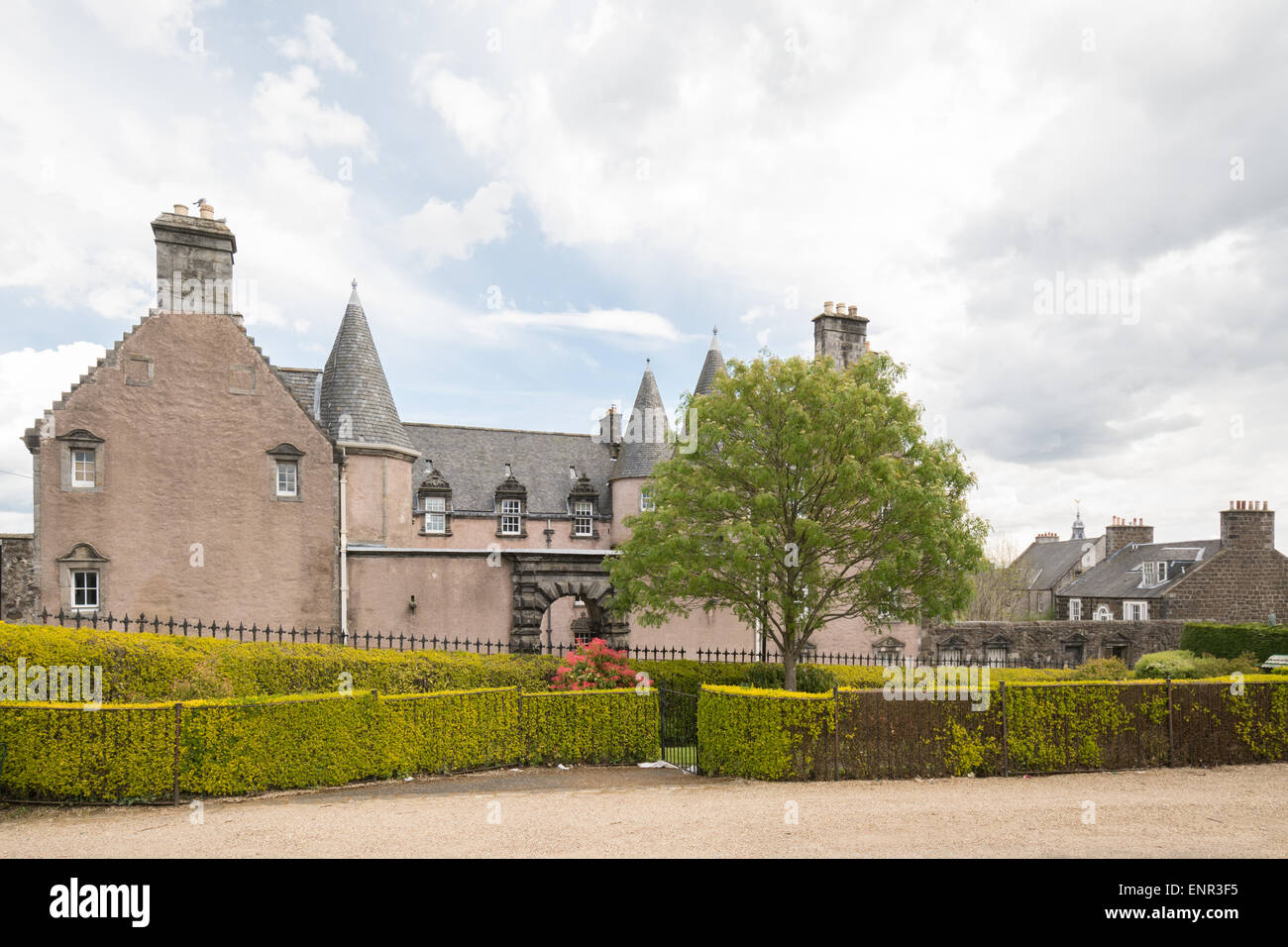 Argyll's Lodging - Scotland's most complete example of a 17th century townhouse - Stock Image