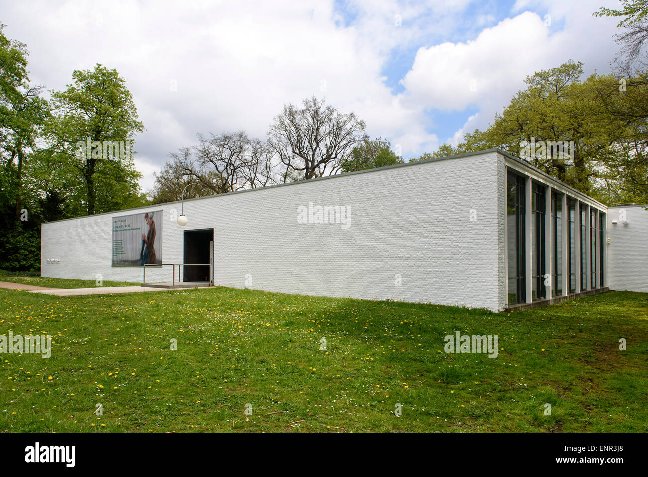 Ernst Barlach House in the Jenischpark, built 1962 by Werner Kallmorgen, Hamburg, Germany Stock Photo