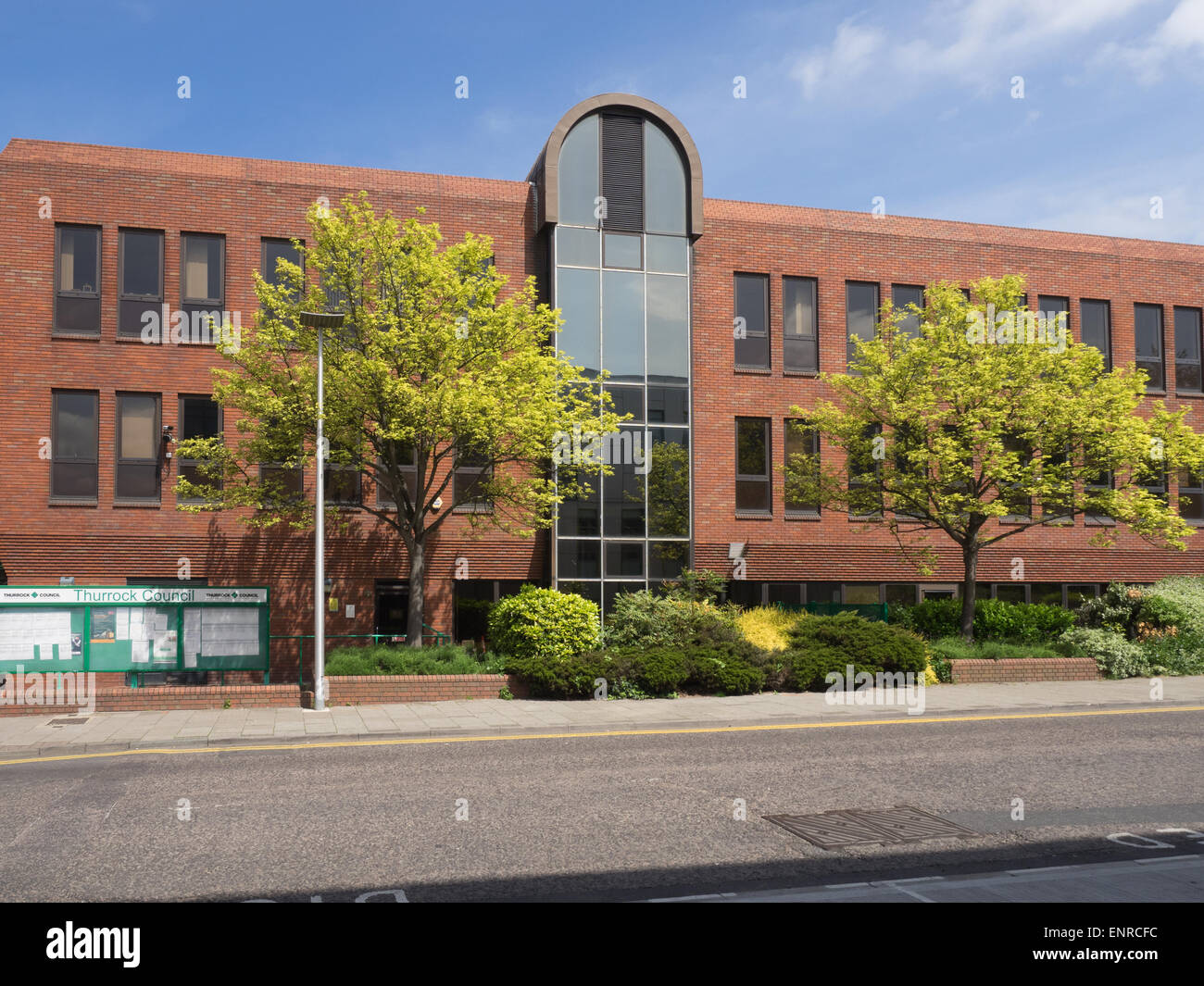Thurrock Unitary Council Civic Offices New Road, Grays Essex Chambers Stock Photo