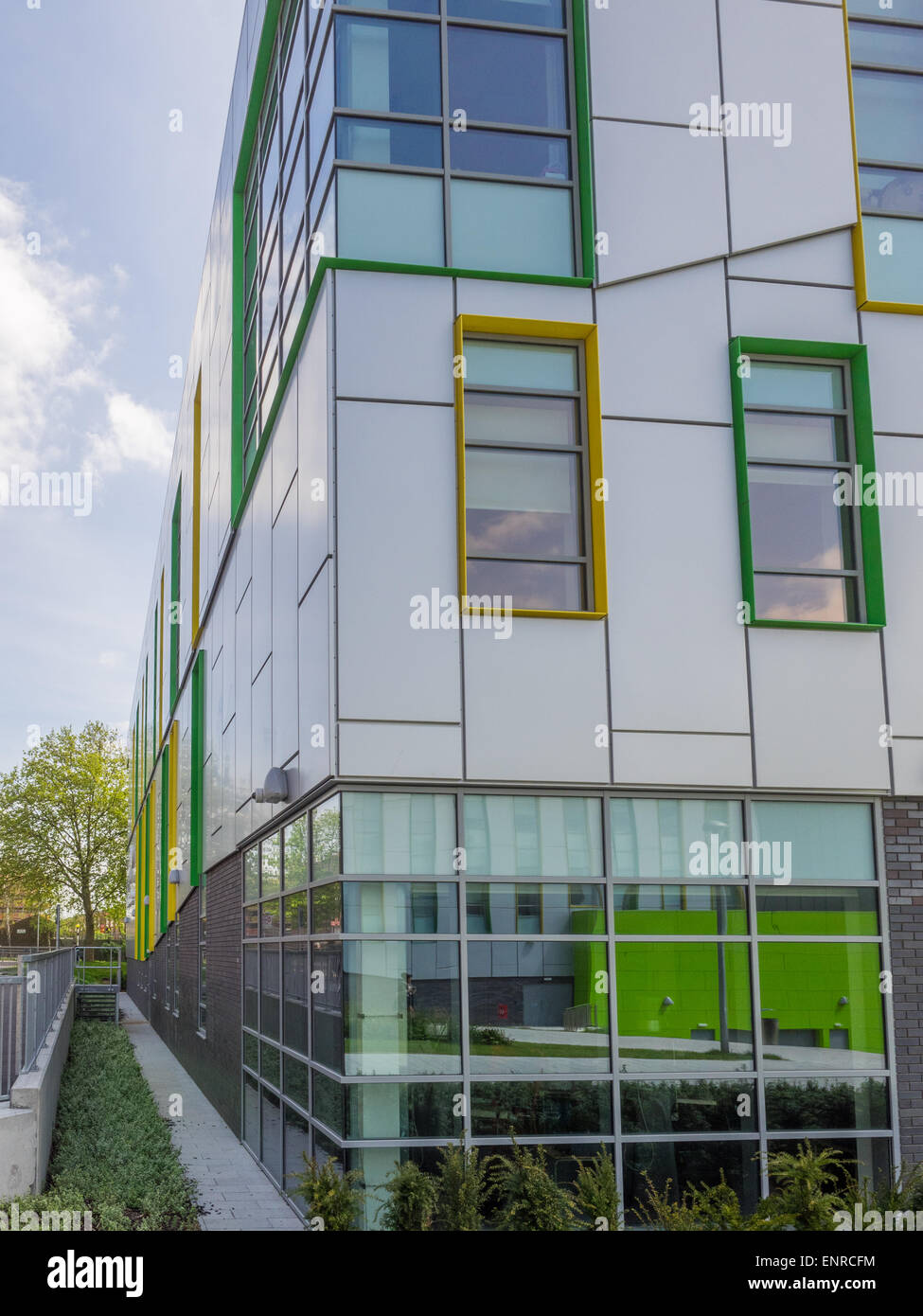 South East College Thurrock Grays Campus Further Higher Education Essex Thurrock on Thames London England Stock Photo