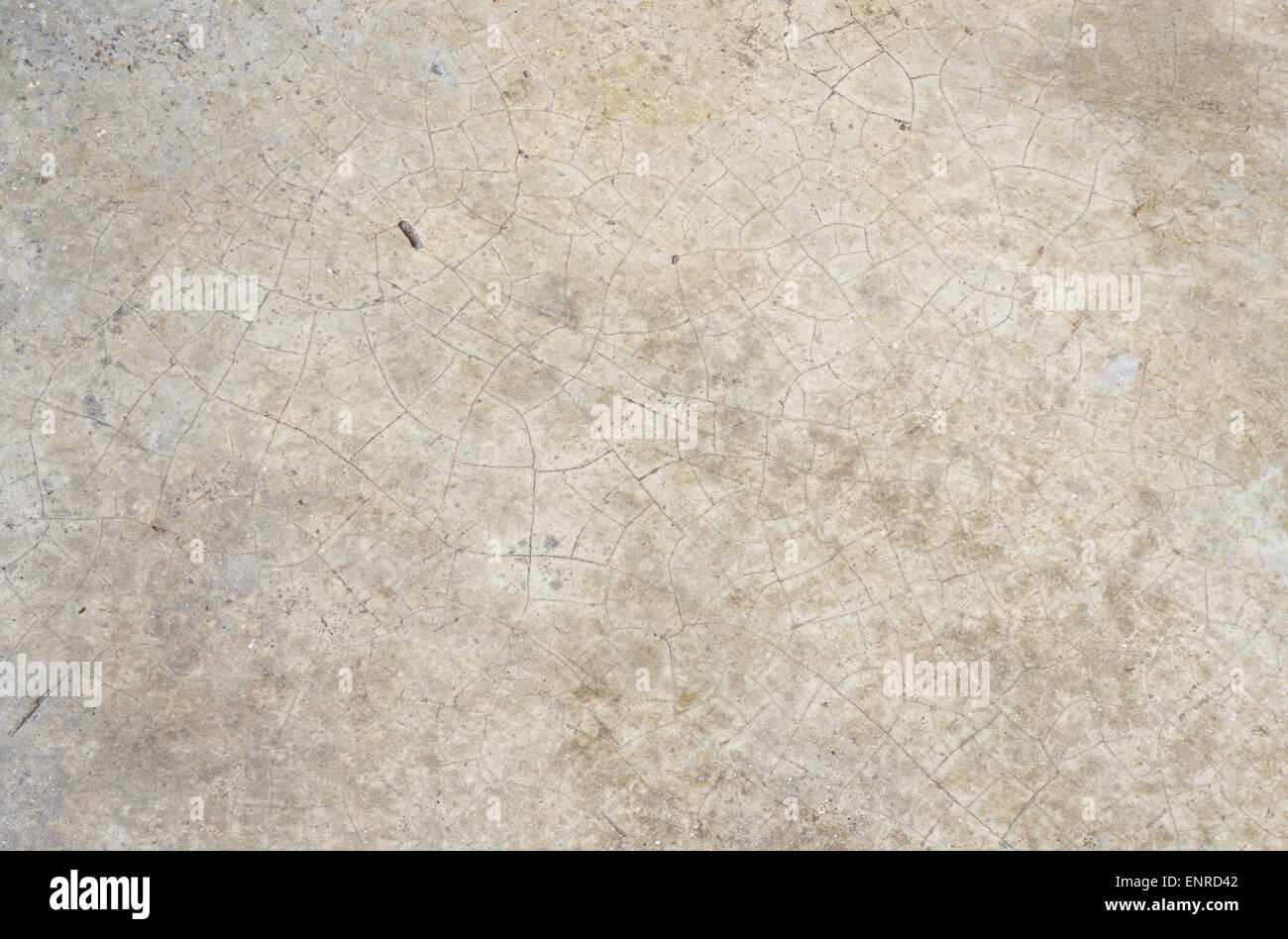 White Stone Granite with Crack on a Floor Texture - Stock Image