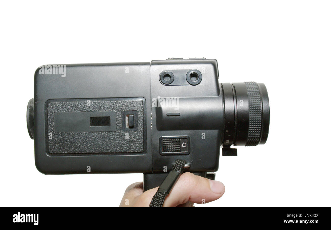 8 mm camera - Stock Image