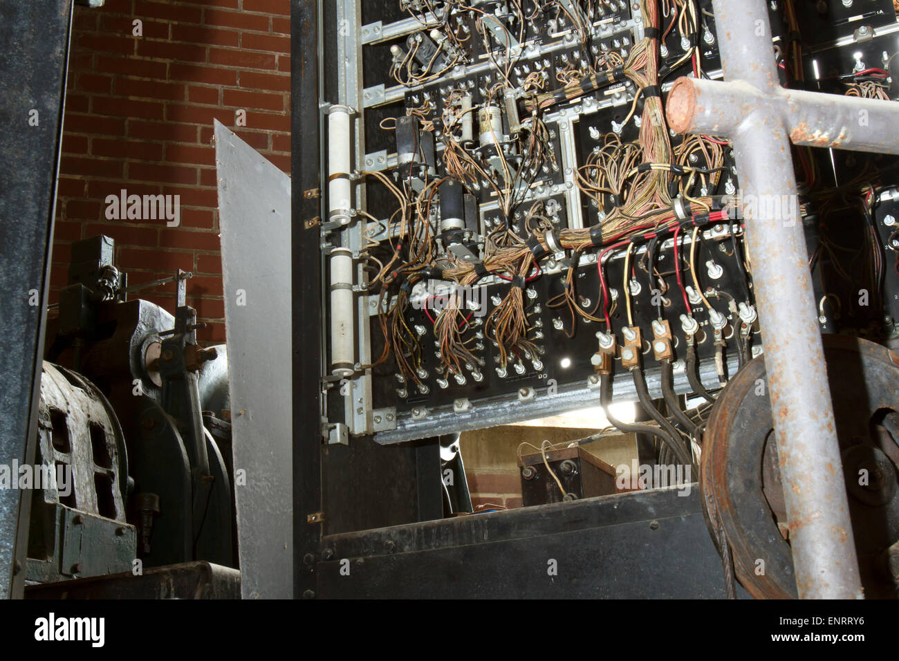 Old Electrical Panel on