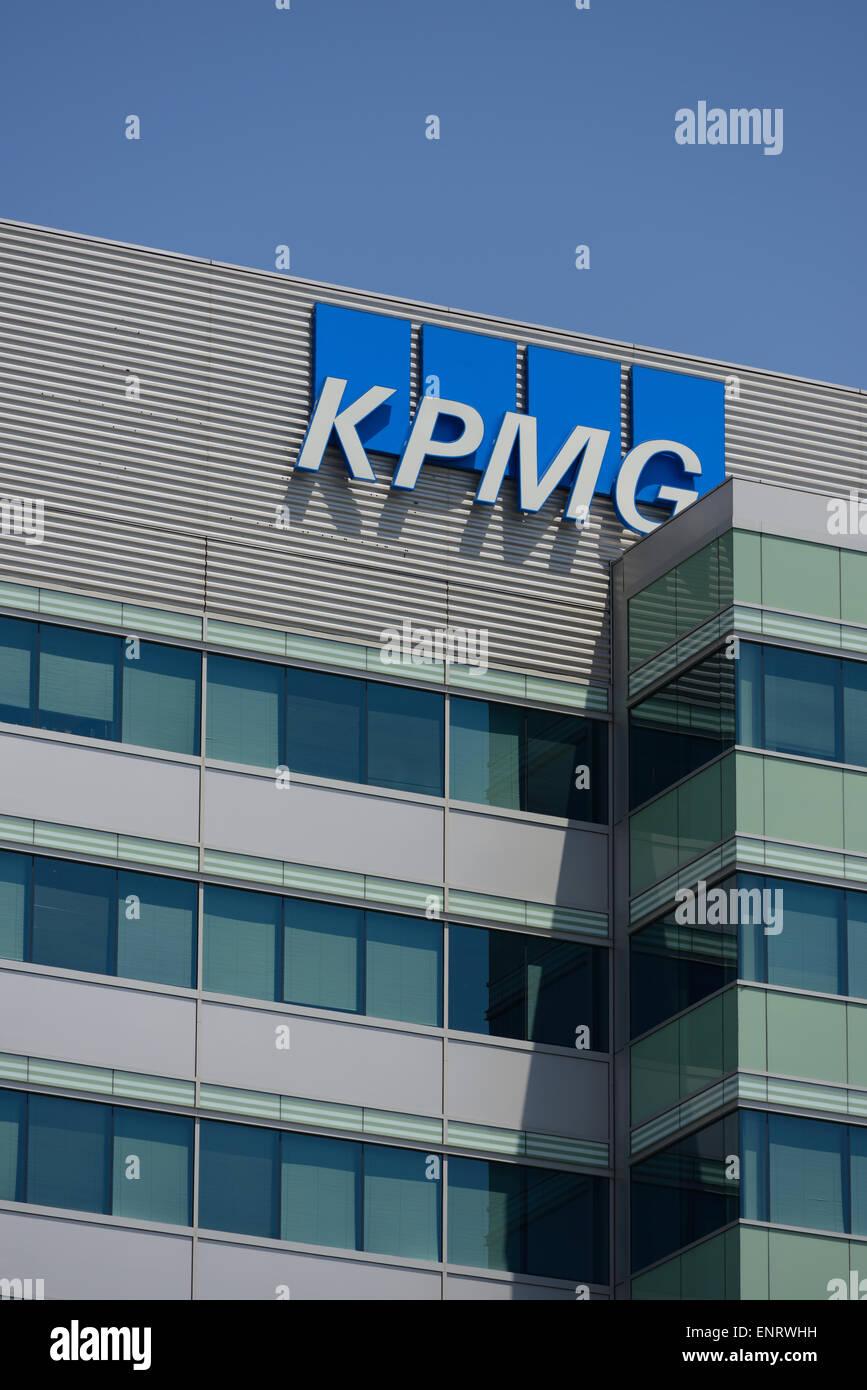 KPMG offices, Santa Clara CA - Stock Image