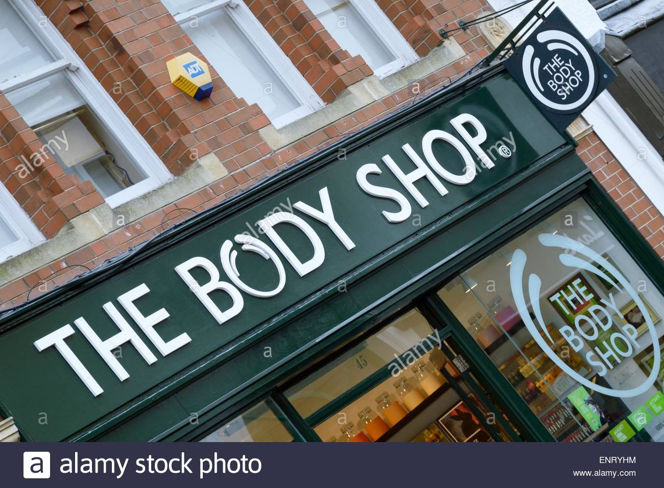 the body shop store stock photos the body shop store stock images alamy. Black Bedroom Furniture Sets. Home Design Ideas