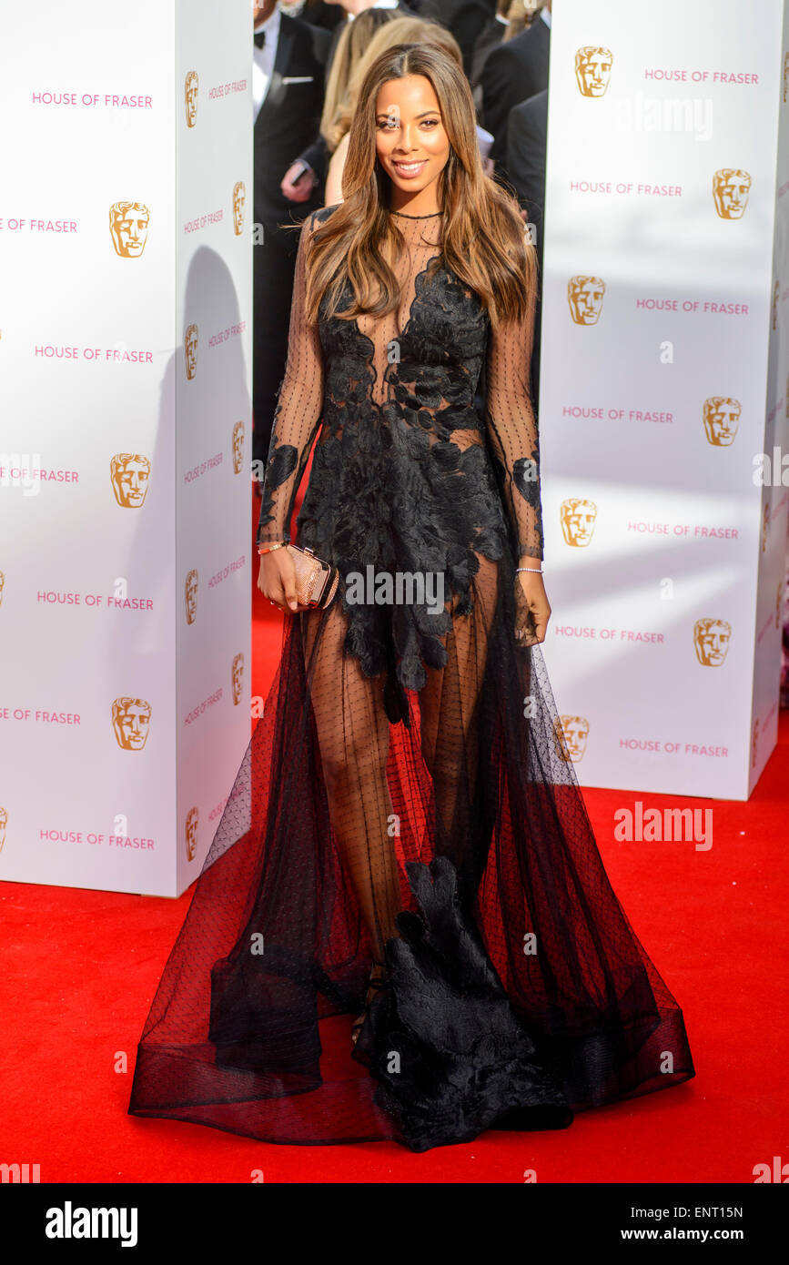 Rochelle Humes attends the HOUSE OF FRASER BRITISH ACADEMY TELEVISION AWARDS 2015 on 10/05/2015 at Theatre Royal, - Stock Image