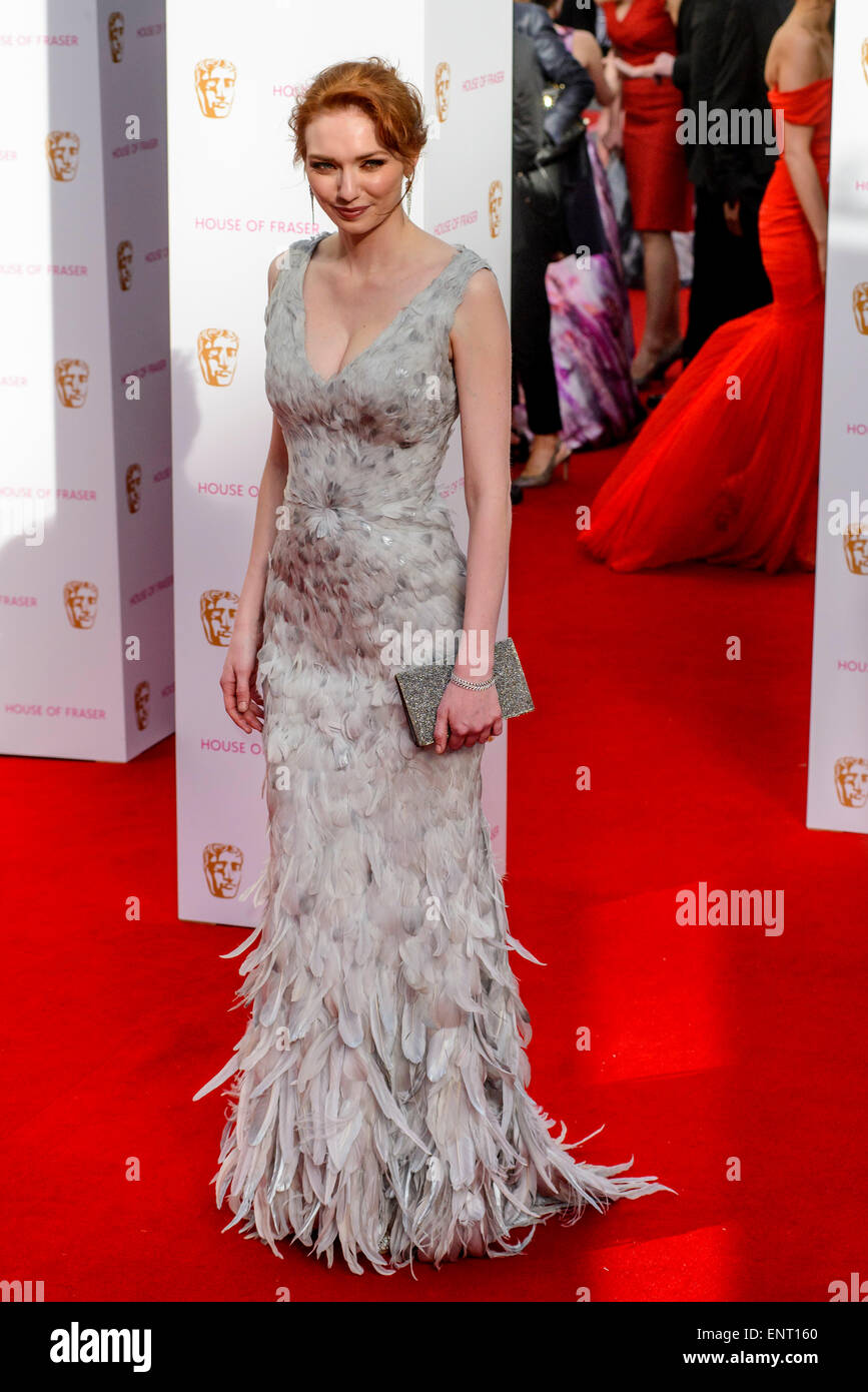 Eleanor Tomlinson attends the HOUSE OF FRASER BRITISH ACADEMY TELEVISION AWARDS 2015 on 10/05/2015 at Theatre Royal, - Stock Image