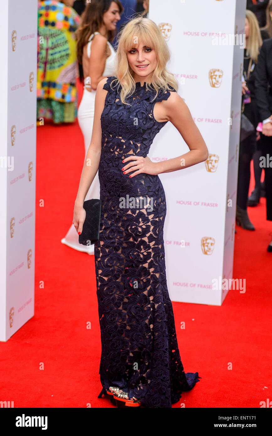 Pixie Lott attends the HOUSE OF FRASER BRITISH ACADEMY TELEVISION AWARDS 2015 on 10/05/2015 at Theatre Royal, Drury - Stock Image