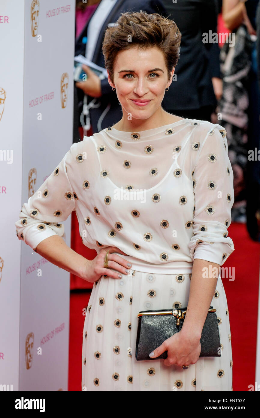 Vicky McClure attends the HOUSE OF FRASER BRITISH ACADEMY TELEVISION AWARDS 2015 on 10/05/2015 at Theatre Royal, - Stock Image