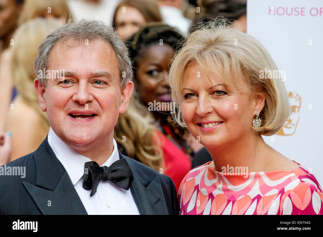 Hugh Bonneville and Lulu Williams attends the HOUSE OF FRASER BRITISH ACADEMY TELEVISION AWARDS 2015 on 10/05/2015 - Stock Image