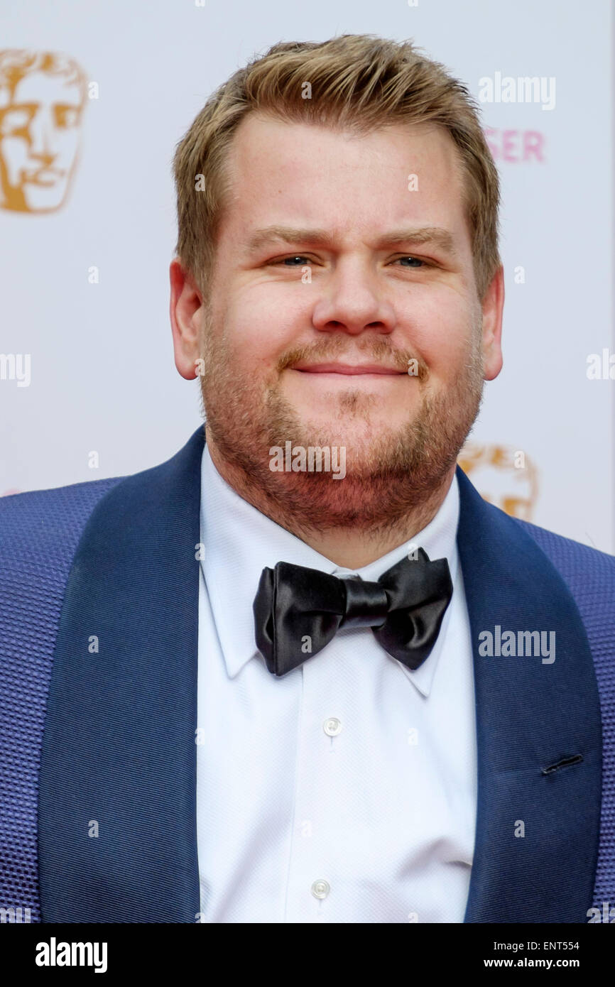 James Corden attends the HOUSE OF FRASER BRITISH ACADEMY TELEVISION AWARDS 2015 on 10/05/2015 at Theatre Royal, - Stock Image