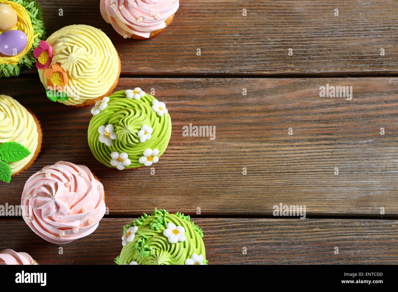 Spring Easter pastry, food closeup - Stock Image