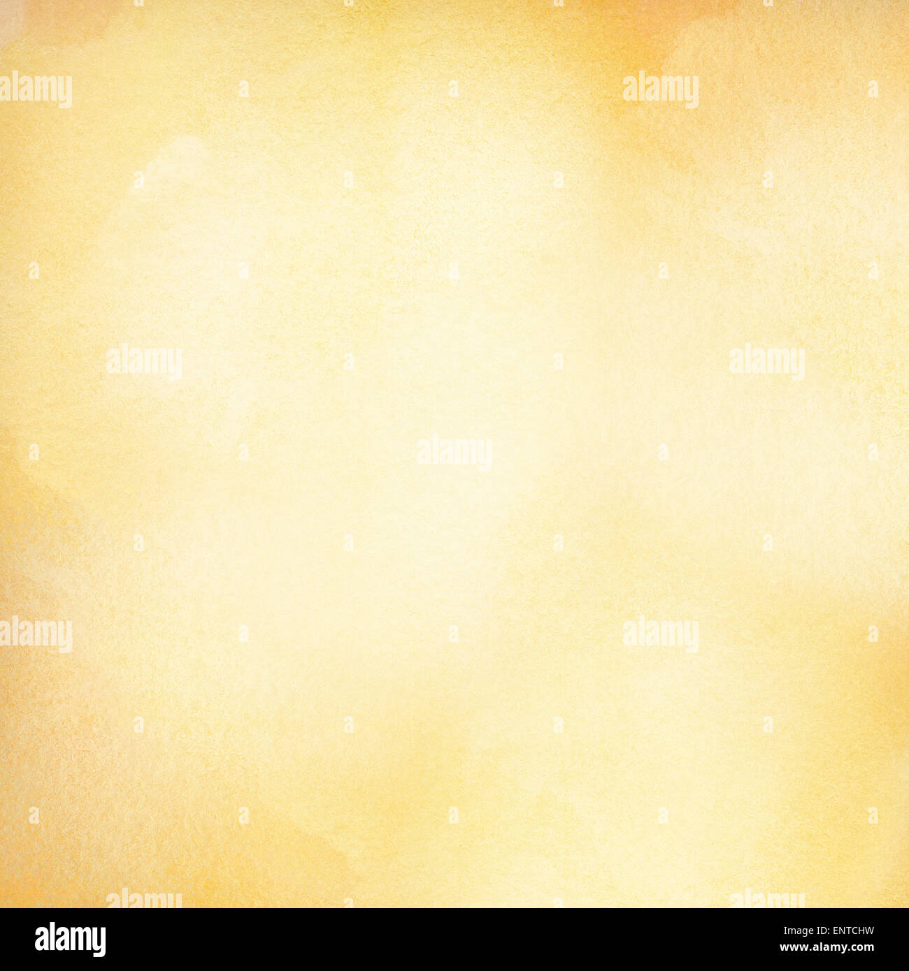 Abstract light orange watercolor background spring, summer theme with copy space - Stock Image