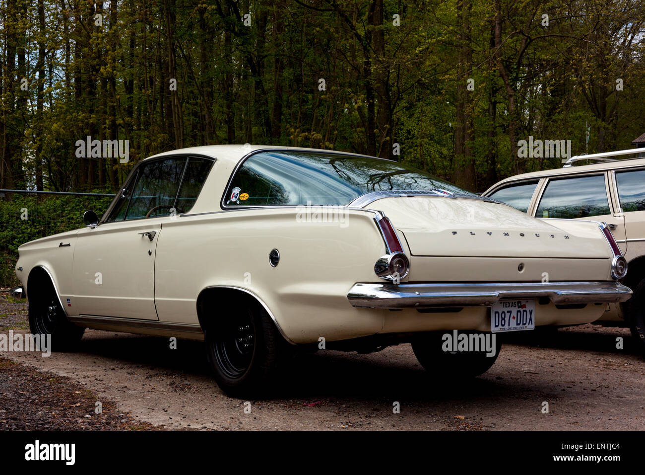 Vintage 1965 Plymouth Barracuda Fastback muscle car - Stock Image