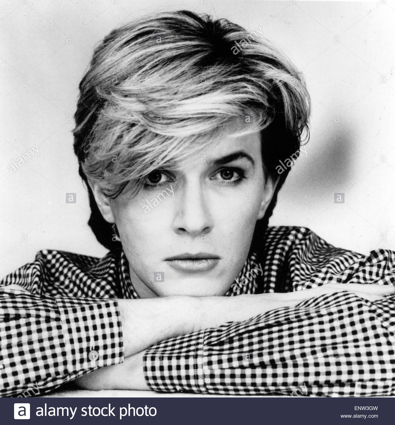 DAVID SYLVIAN  Promotional photo of English pop musician about 1975 - Stock Image