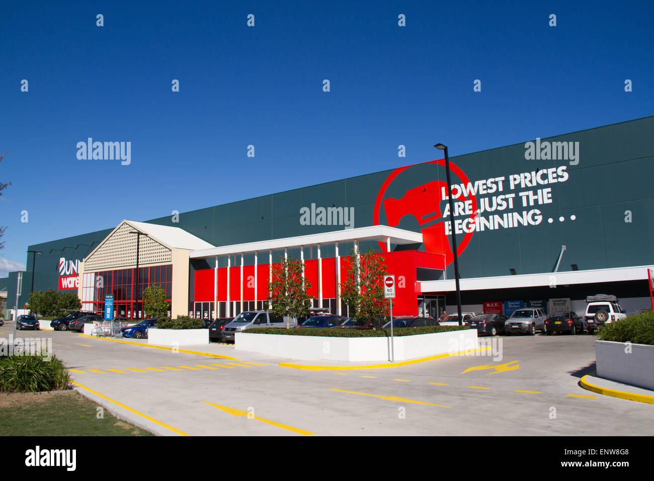 Bunnings Warehouse at Euston Road, Alexandria in Sydney