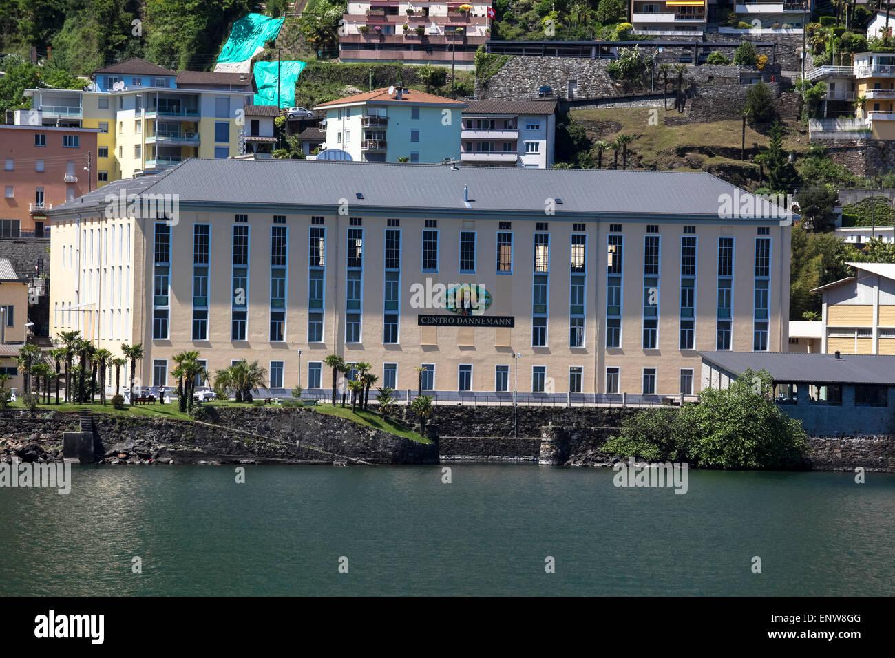 Dannemann Center in Brissago - Stock Image