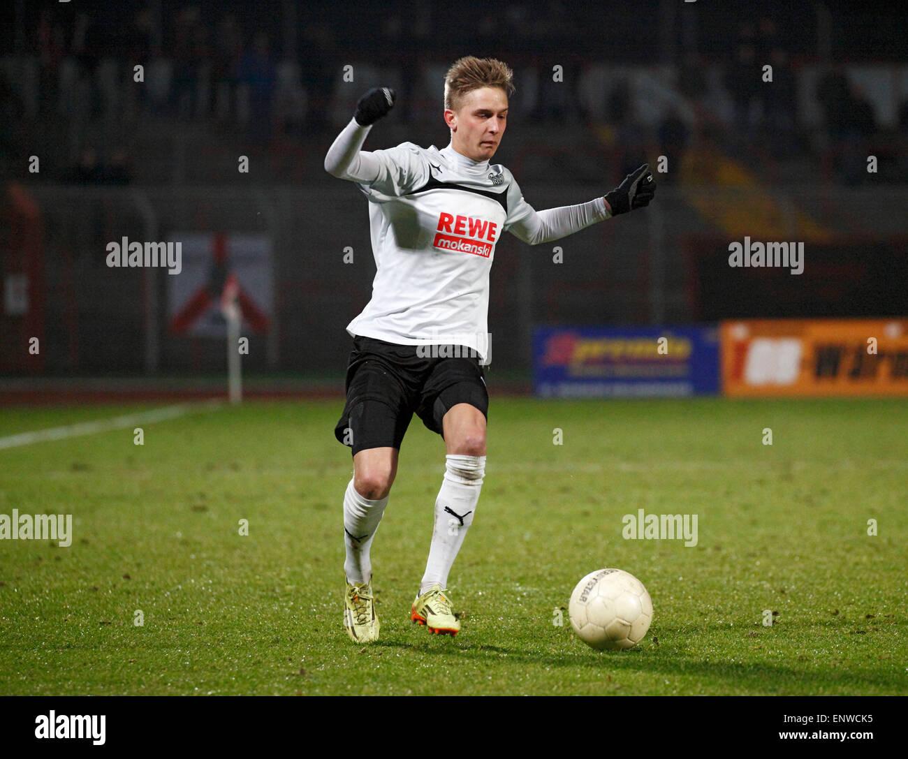 sports, football, Regional League West, 2014/2015, Rot Weiss Oberhausen versus SG Wattenscheid 09 0:1, Stadium Niederrhein - Stock Image