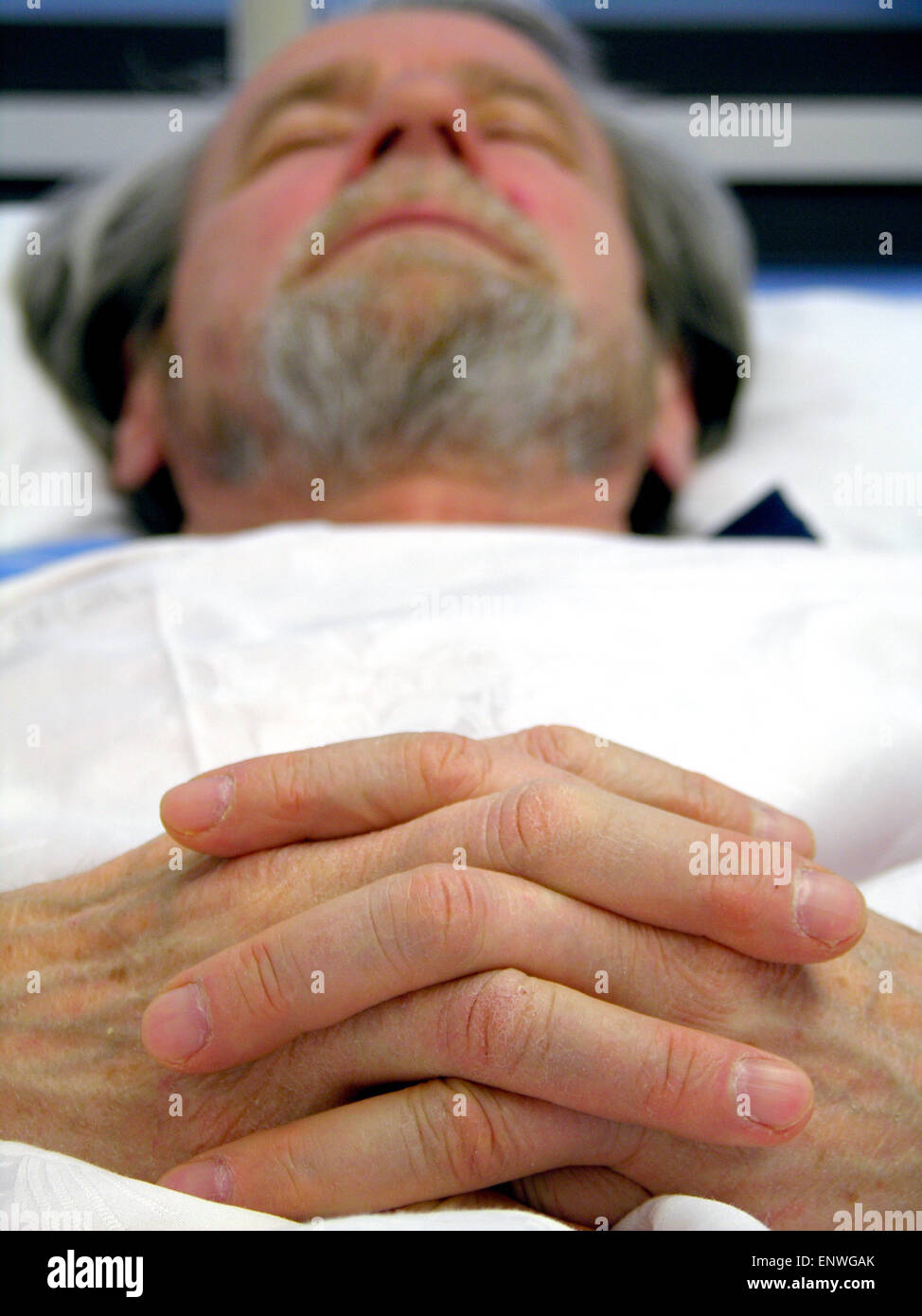Patient is dying Stock Photo