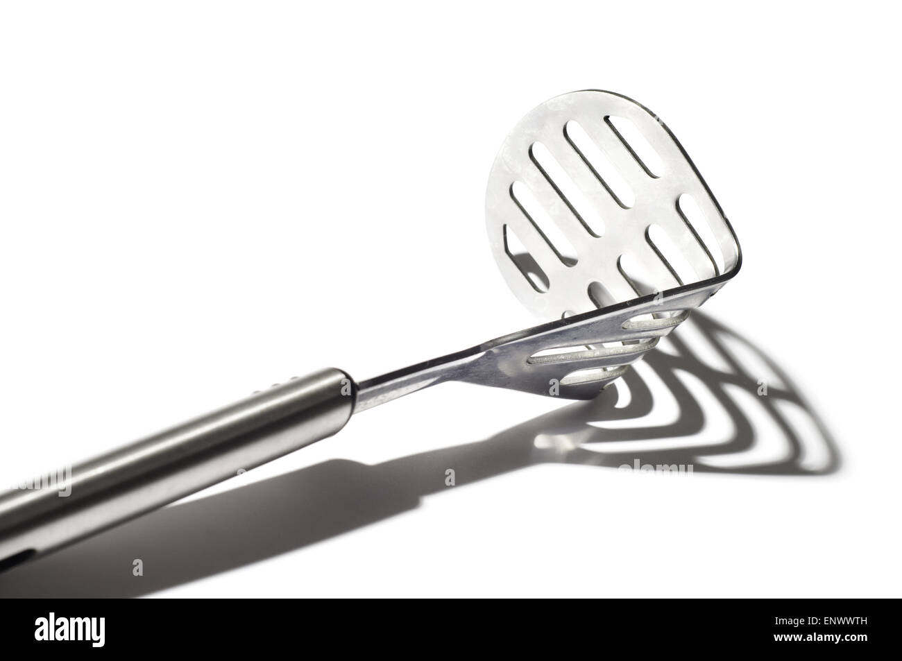 Kitchenware and strong shaddow - Stock Image
