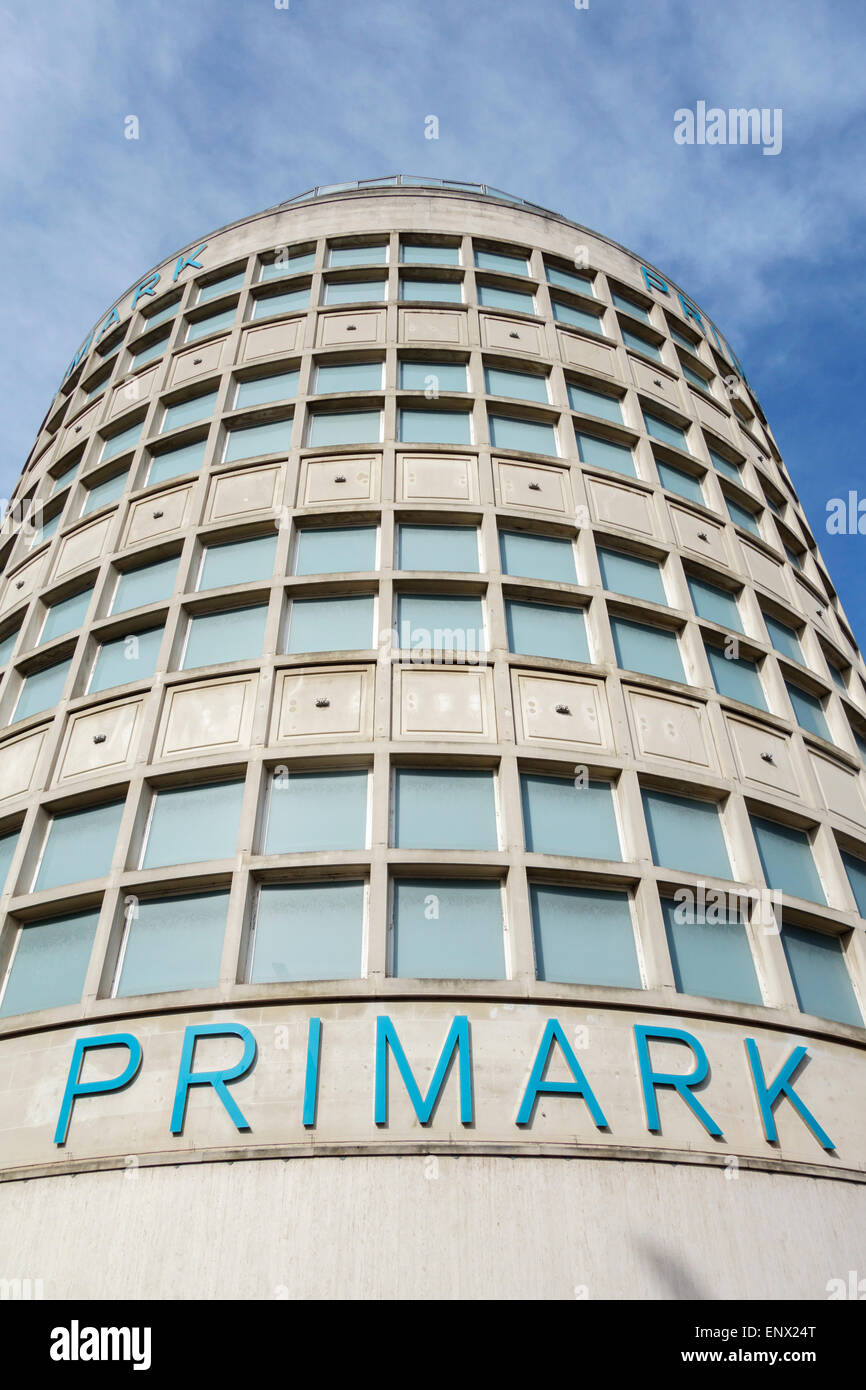 The Horsefair, Broadmead, Bristol, UK. Primark occupies this 1955 department store building now called Bristol HOF - Stock Image