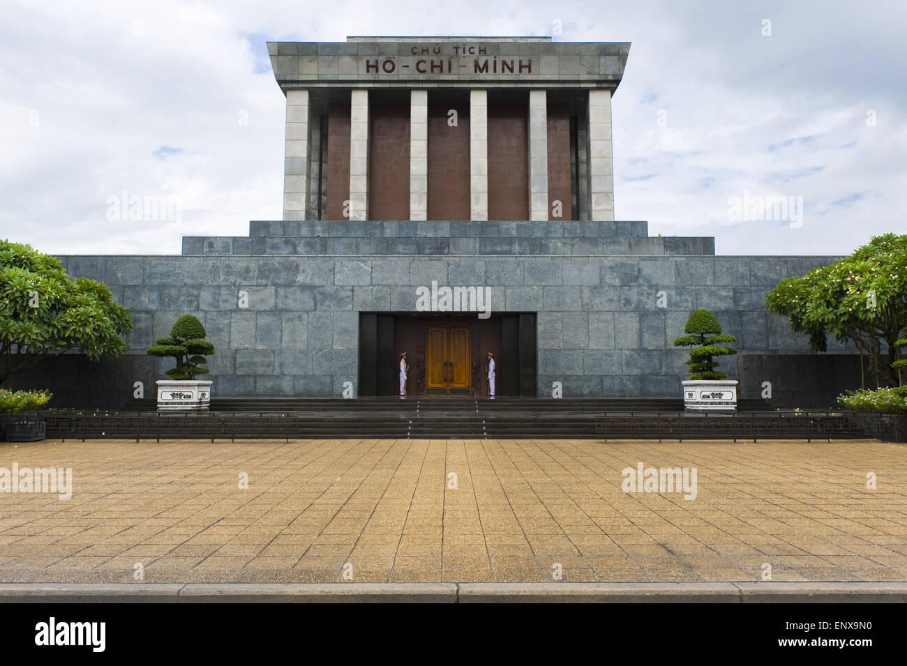 Ho Chi Minh Mausoleum - Hanoi, Vietnam - Stock Image