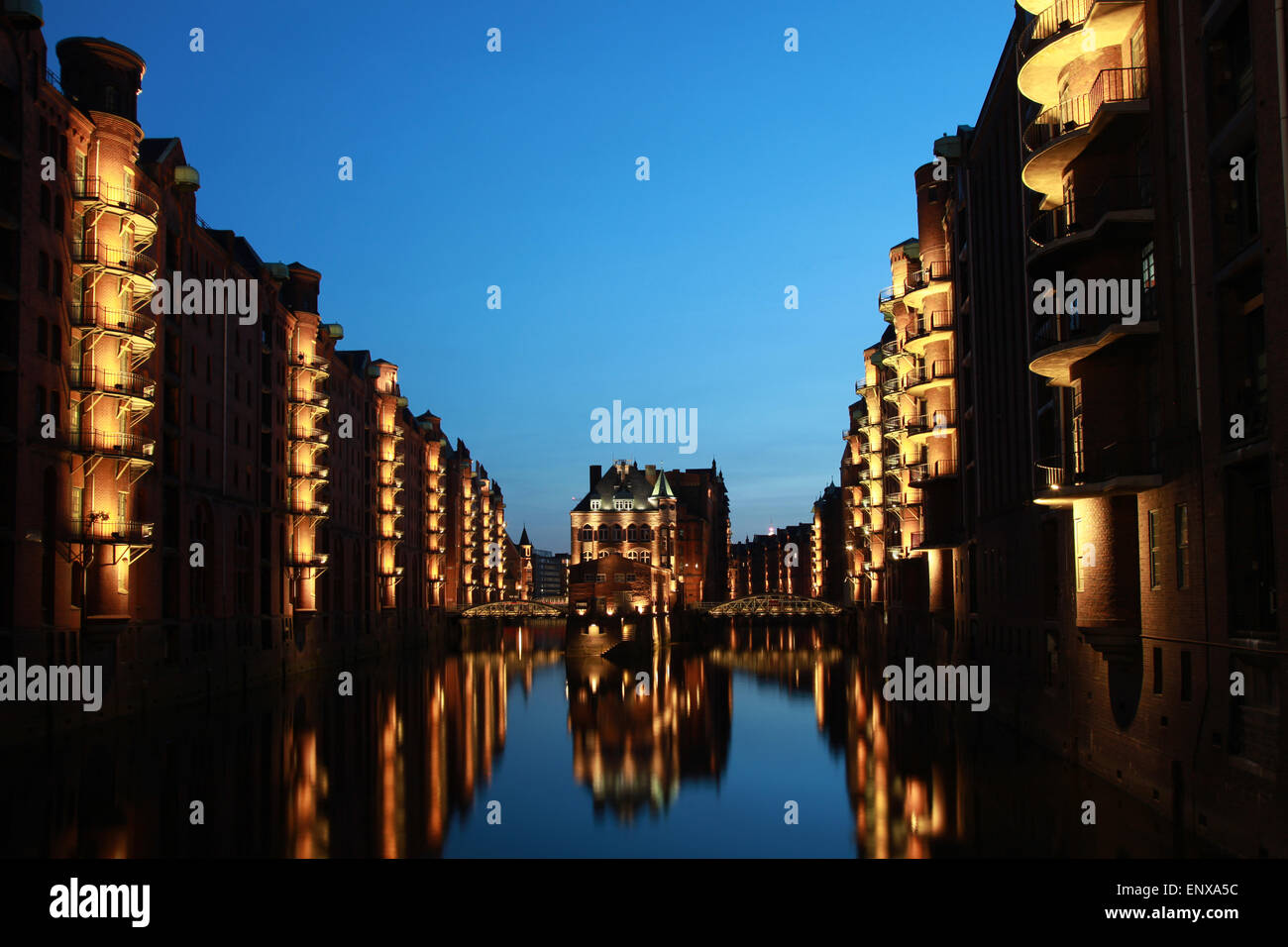 Hamburg Wasserschlösschen Stock Photo