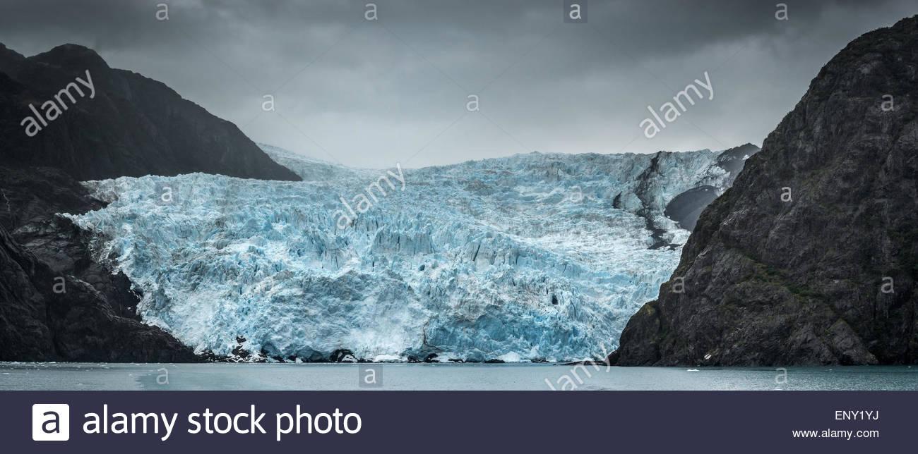 Kenai Fjords National Park near Seward - Alaska - Stock Image