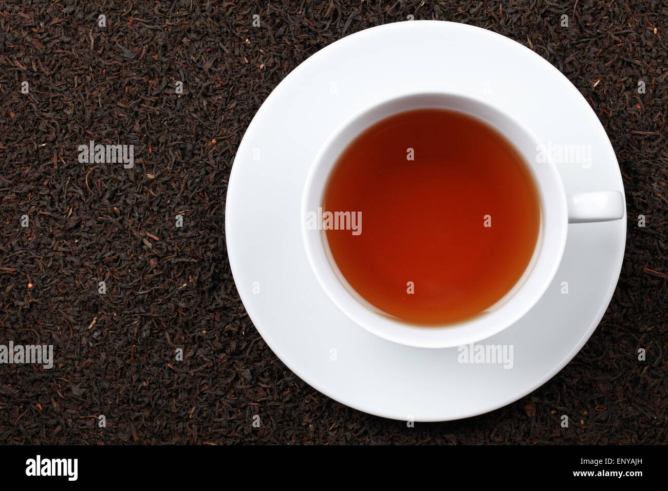 Schwarzer Tee Stock Photo